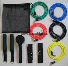 11pcs resistance tube