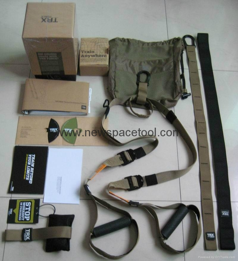 TRX force kit tactical T3 suspension trainer- GSA Version  1
