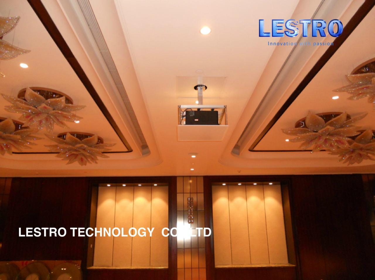 原廠直供  電動竹節式投影機弔架  CE和ROHS認証 超大負重可定製 5