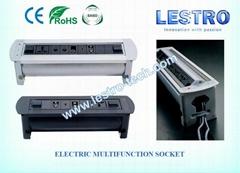 原厂直供 会议桌多媒体桌面插座 (电动款手动款均有供应)