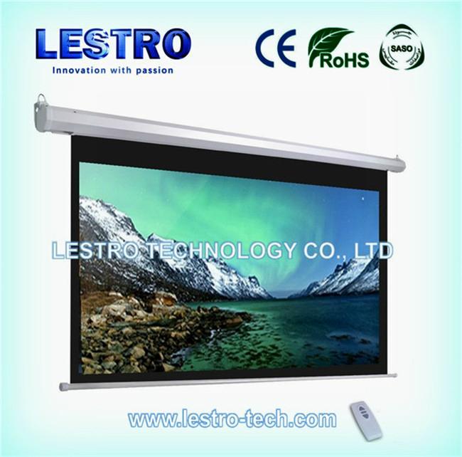 原厂直供   豪华电动投影幕  CE和ROHS认证 1