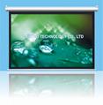 原厂直供   豪华电动投影幕  CE和ROHS认证 3