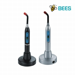 SKI wireless oral  LED Curing lamp with digital CE