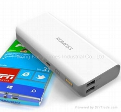 ROMOSS 10400mAH Power bank for samung/iphone mobile phone battery
