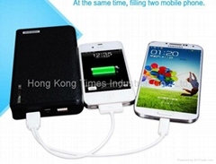 Philips power bank for iphone5 /iphone4s, samsung9100/9300,Millet  mobile phone