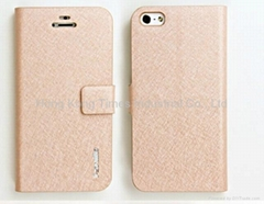 iphone 5 leather cover, iphone 5 case,iphone case/ protect case