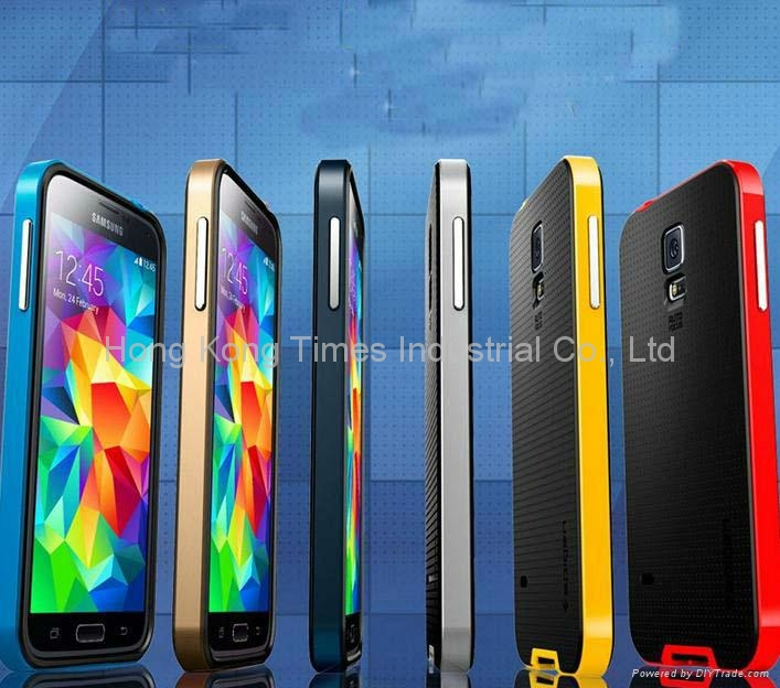 Bumblebee Case For Samsung Galaxy S5 i9600 SPIGEN SGP Hard  1