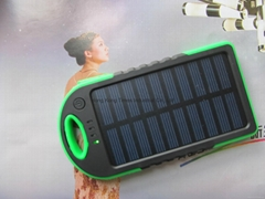 USB Solar Charger Power Bank Travel External Battery charger for samsung iphone