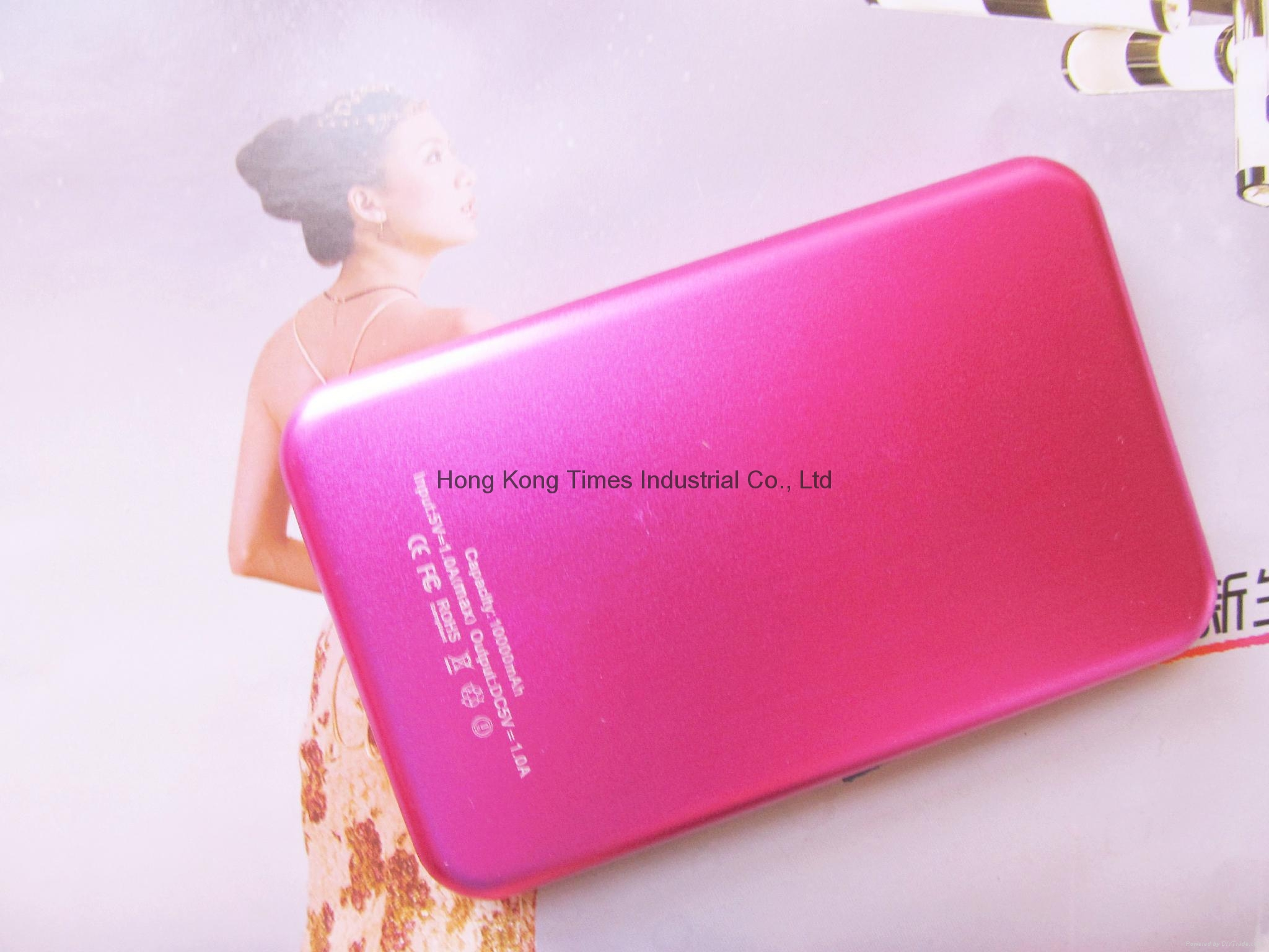 Power Bank USB External Mobile charger for iphone 6s , iphone 6s plus, samsung 5