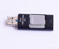 OTG for iPhone 6s /Samsung S6 Phones Flash Driver, USB Flash Memory OTG 2