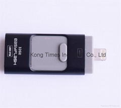 OTG for iPhone 6s /Samsung S6 Phones Flash Driver, USB Flash Memory OTG
