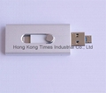 OTG for for Samsung iPhone Phones, USB Key Flash Memory Card