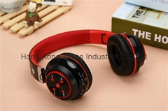 40mm Speaker Stereo Colorful Wired Headphone, Bluetooth Sport Handset