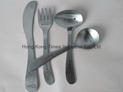 4-pieces Stainless steel slimiling face