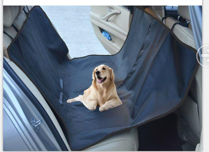 Waterproof Quilted Pet Seat Cover for Cars, Scratch-Proof /Hammock Style 1