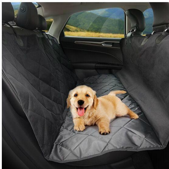 Waterproof Quilted Pet Seat Cover for Cars, Scratch-Proof /Hammock Style 2