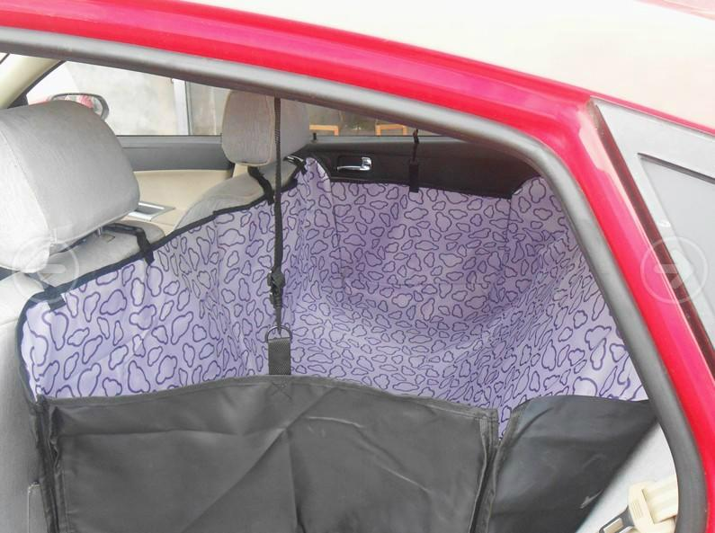 Waterproof Quilted Pet Seat Cover for Cars, Scratch-Proof /Hammock Style 3