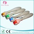 DER220 newest LED derma roller with bttary, powe line, vibrating function