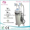 BSL900-1 2 Cryolipolysis Handles Cavitation RF Slimming Machine