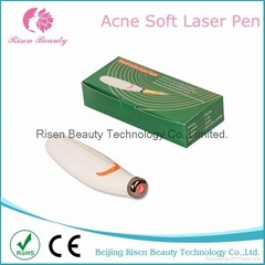 Home Use Best Product for Ance Soft Laser Light Ance Treatment Face Pen