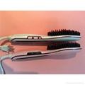 Ceramic Electric Hair Brush Hair Straightener Comb