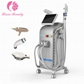 Newest Elight+ SHR+RF+ ND YAG LASER Multifunctional Machine