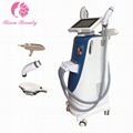 Elight600 vertical ELIGHT+RF+Q switch laser 3 in 1 hair removal beauty equipment