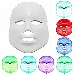 LM200 7 colors led mask/ led facial mask/ led face mask for skin care