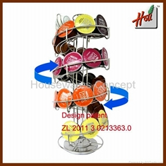 Spiral Rack for Nescafe Dolce Gusto pods