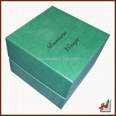 Leather present box