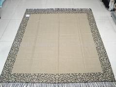 jacquard throw/blanket