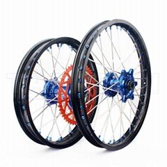 18 19 21 inch Aluminum alloy off road bike Front and Rear motorcycle wheels for