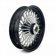OEM Custom aluminum alloy motorcycle wheel sets for Harley Davidson
