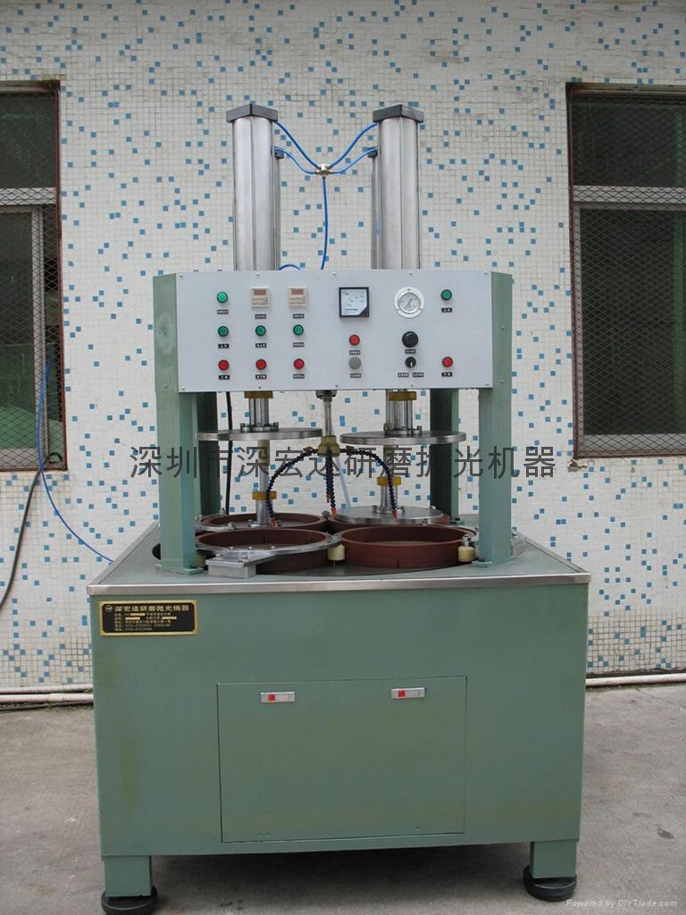 陶瓷片加压型平面研磨抛光机