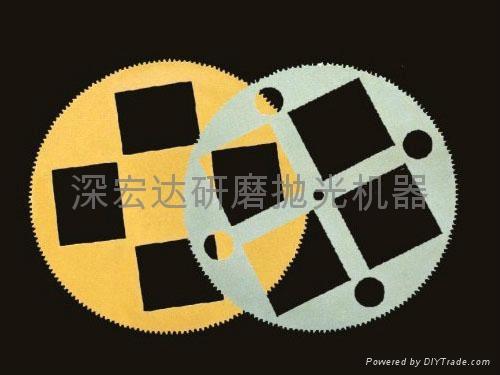 研磨機工裝夾具遊星輪 1