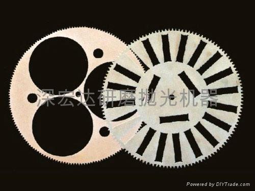 研磨機工裝夾具遊星輪 2