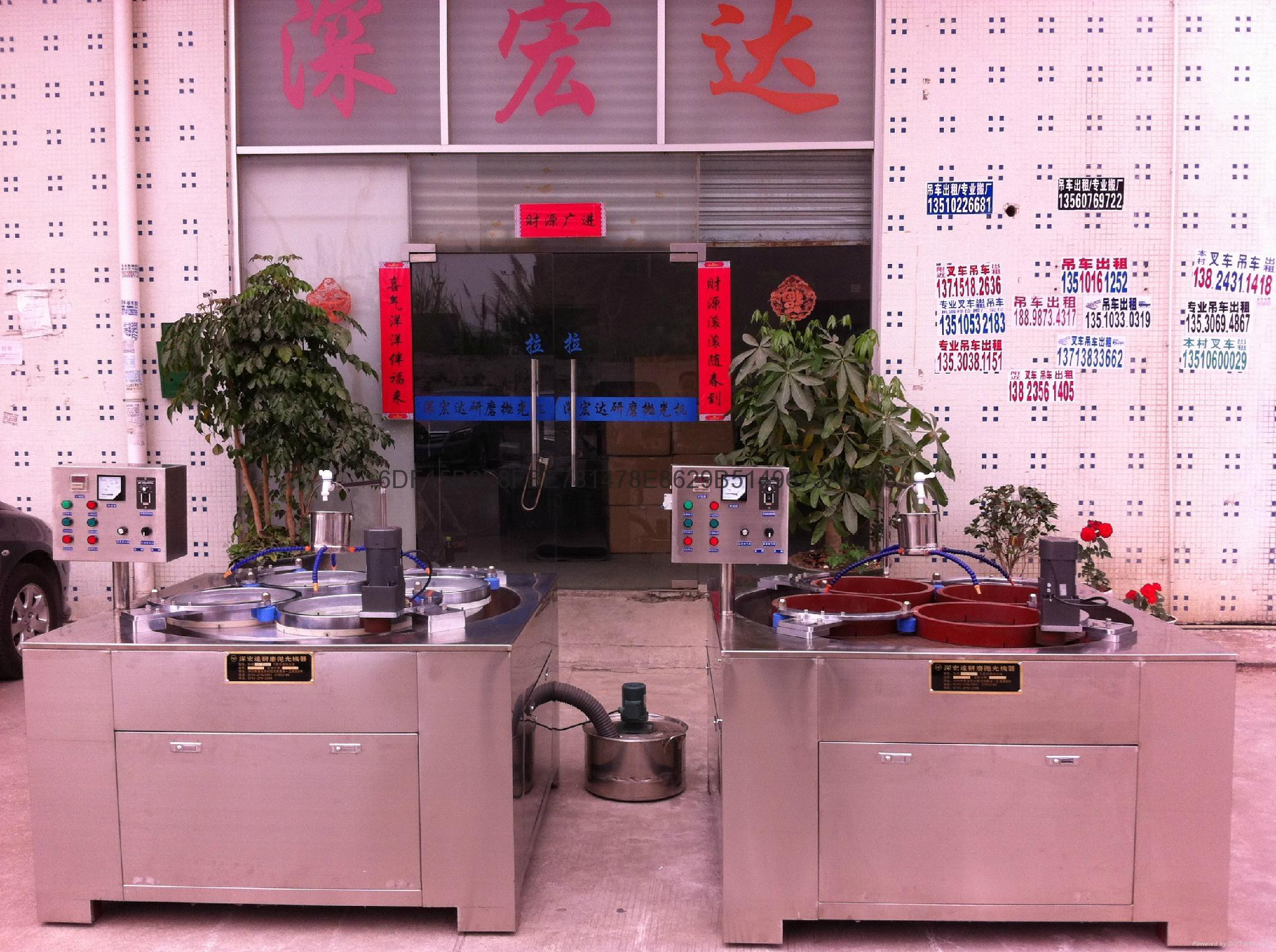 單面研磨機SHDDM-1000 1