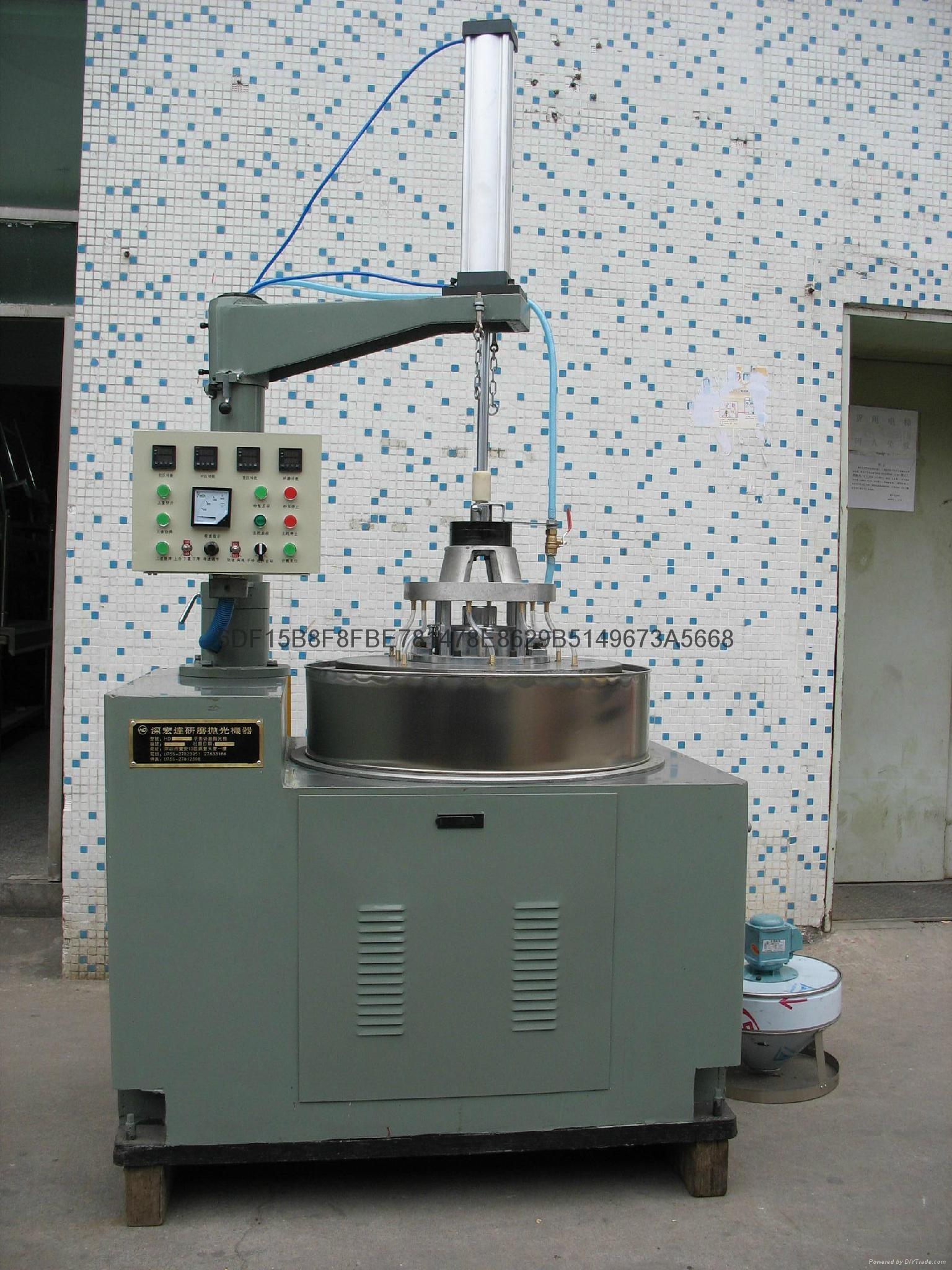 陶瓷覆铜电路板DBC高精度双面研磨抛光机 1