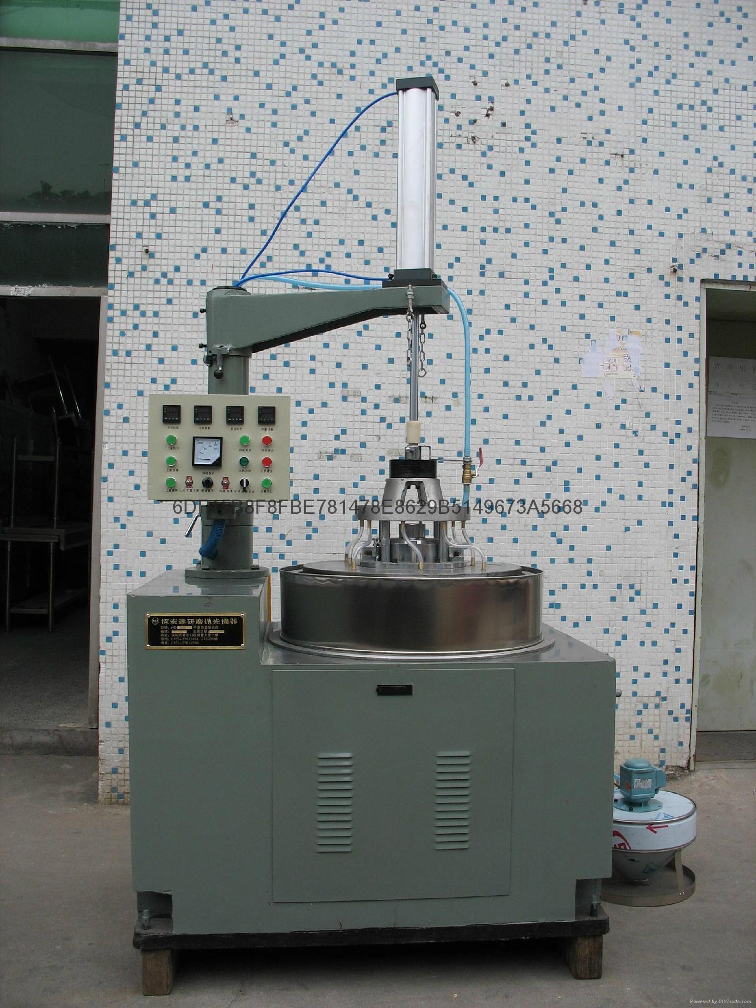 塑料零部件高精度平面研磨抛光机