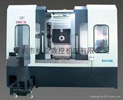 華亞數控臥式加工中心YHHC50臥式銑床機床加工中心