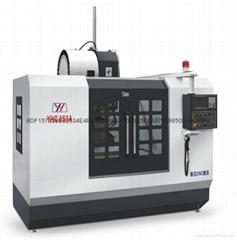 線軌數控銑床立式850加工中心850數控機床華亞數控