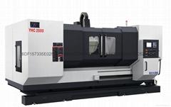 动柱式铝型材加工中心YHC2500型材加工设备长条机加工中心华亚数控机床