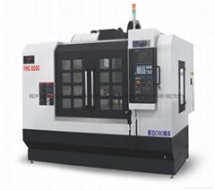 高速高精鑽銑零件加工中心機YHC8050 三軸線軌850加工中心