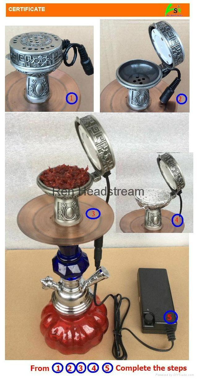 水煙煙鍋,電子炭 7