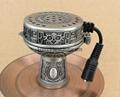 Electronic shisha-hookah smokepan