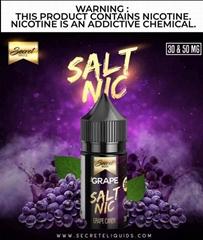 Secret Sauce Grape Salt Nic