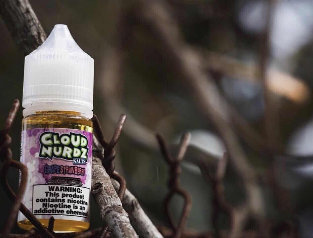 CLOUD NURDZ Salt Nic  oil    1