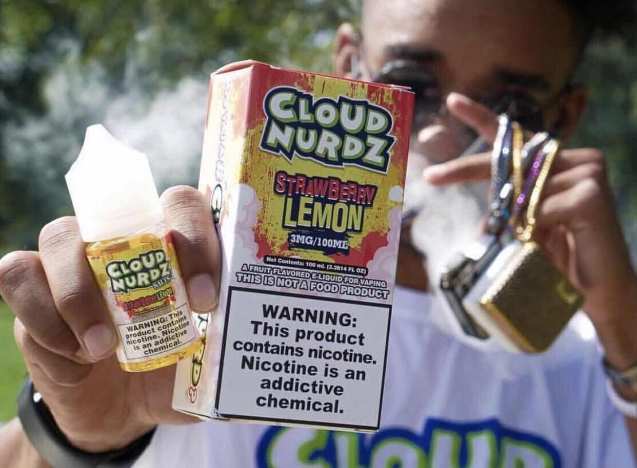 CLOUD NURDZ Salt Nic  oil    4