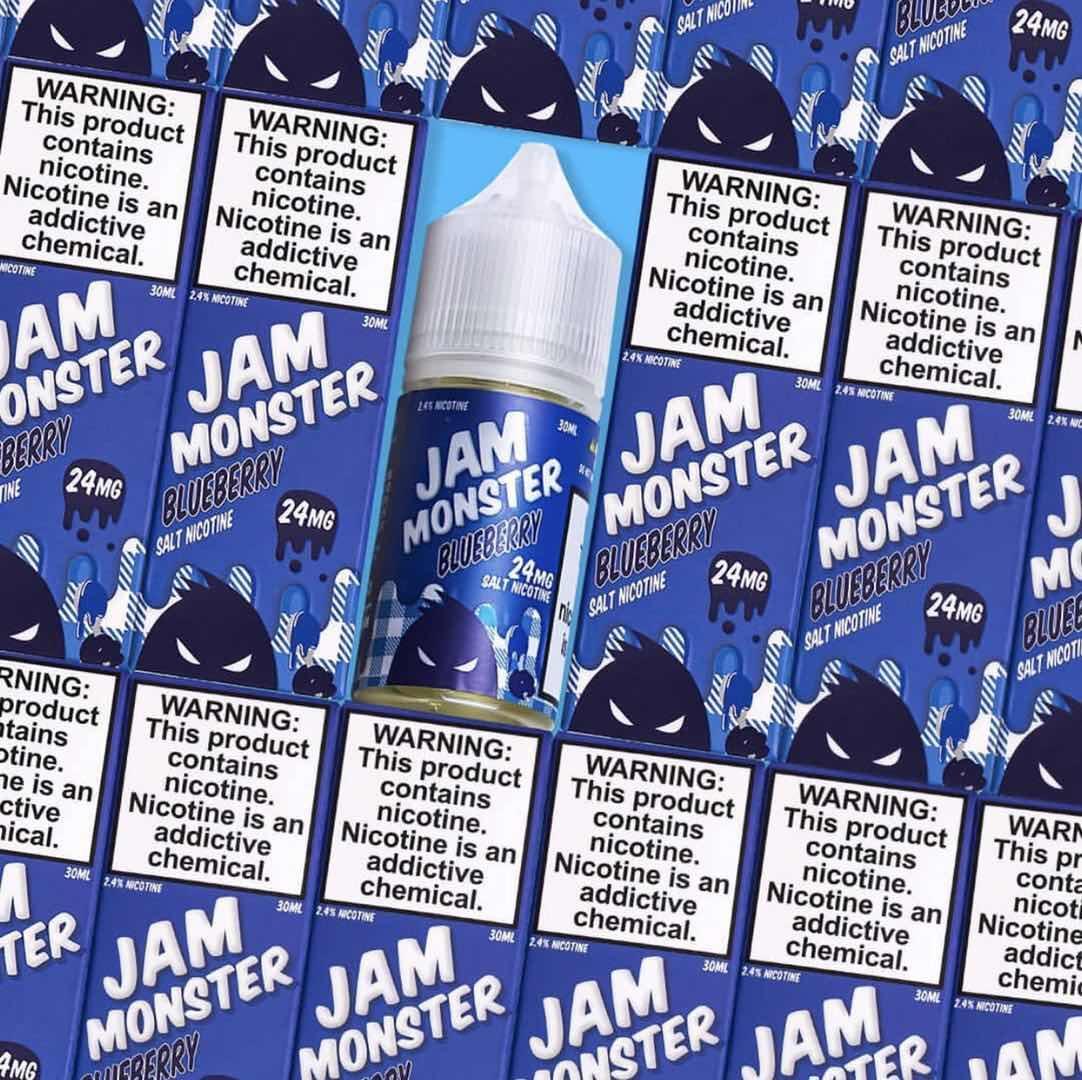 JAM CUSTARD SHOPPE Salt Nic oil    3