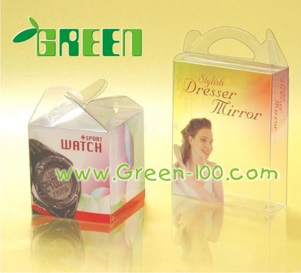 PVC透明折盒塑料盒子 3